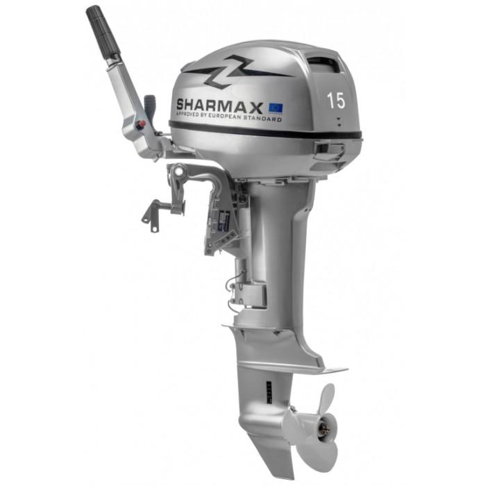2х-тактный лодочный мотор Sharmax SM15HS: отзывы, характеристики, фото