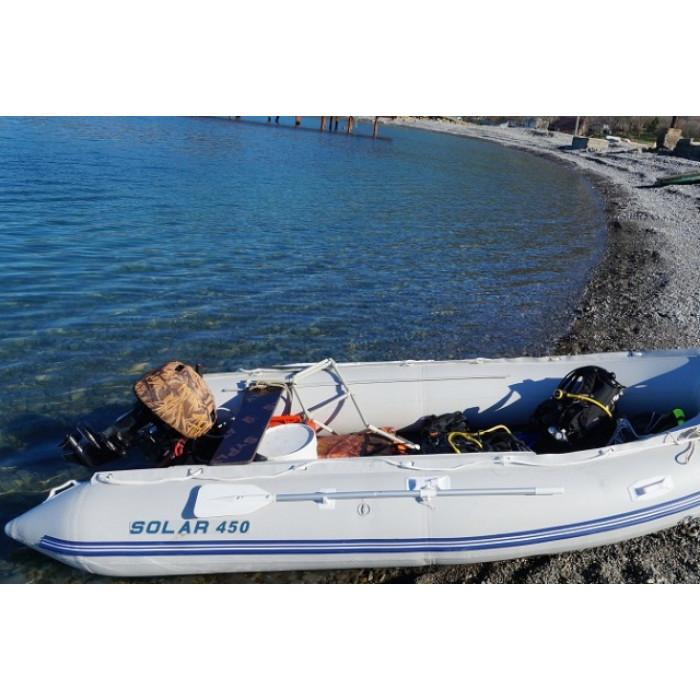 Лодка ПВХ Solar 450 К ПК: отзывы, характеристики, фото