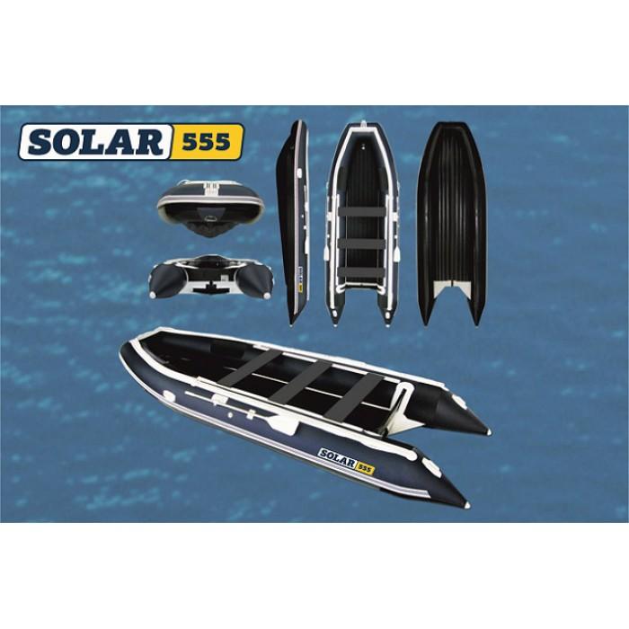 Лодка ПВХ Solar 555 К: отзывы, характеристики, фото