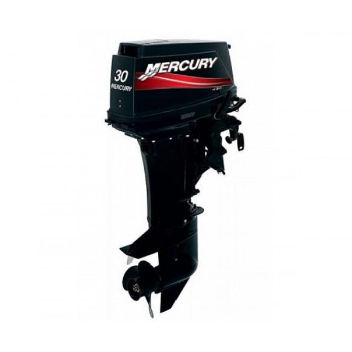 2х-тактный лодочный мотор Mercury 30M: отзывы, характеристики, фото