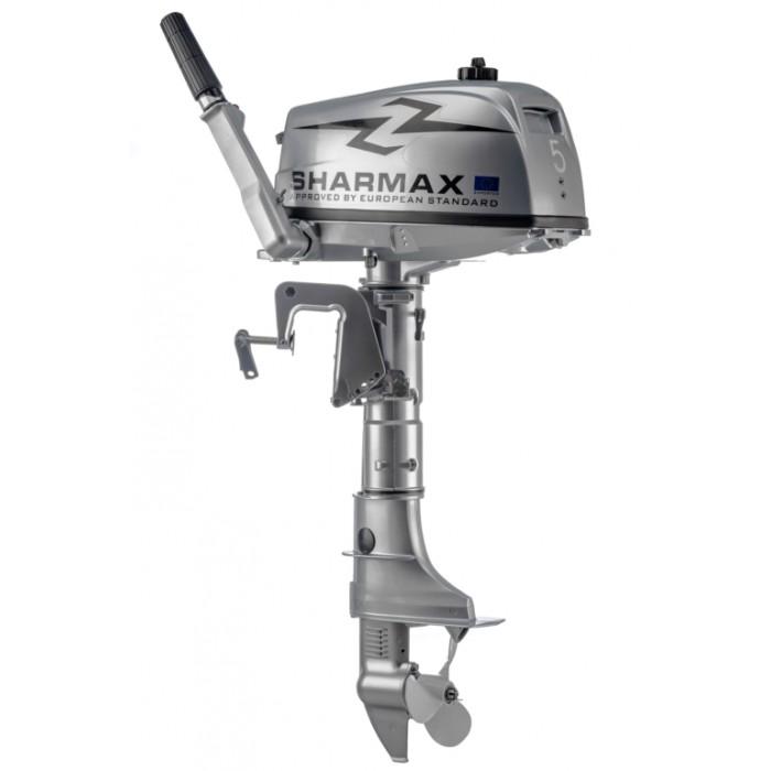 2х-тактный лодочный мотор Sharmax SM5HS: отзывы, характеристики, фото