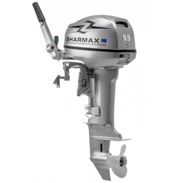 2х-тактный лодочный мотор Sharmax SM9.9HS: отзывы, характеристики, фото