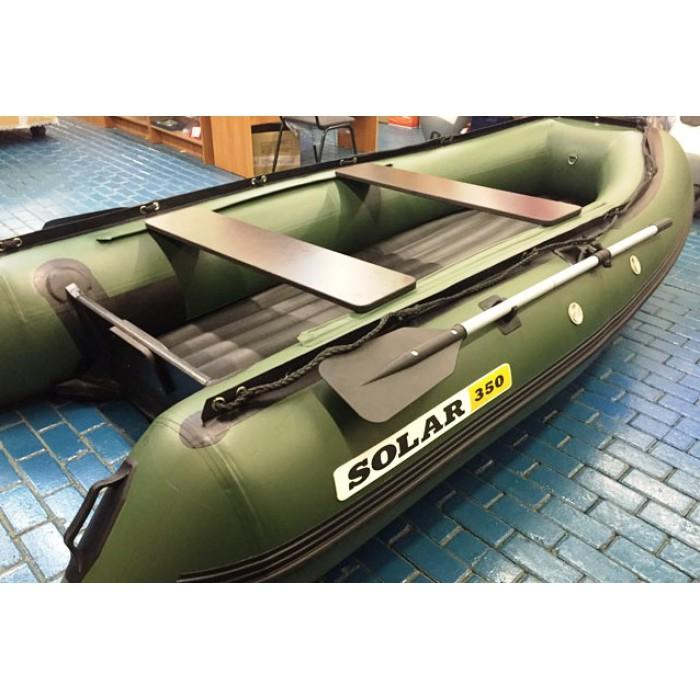 Лодка ПВХ Solar 350: отзывы, характеристики, фото