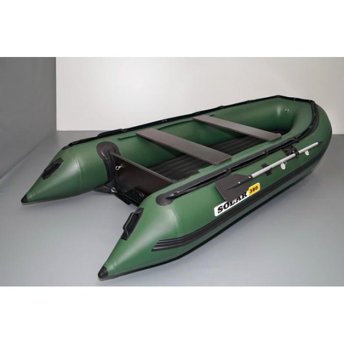 Лодка ПВХ Solar 380 Jet: отзывы, характеристики, фото